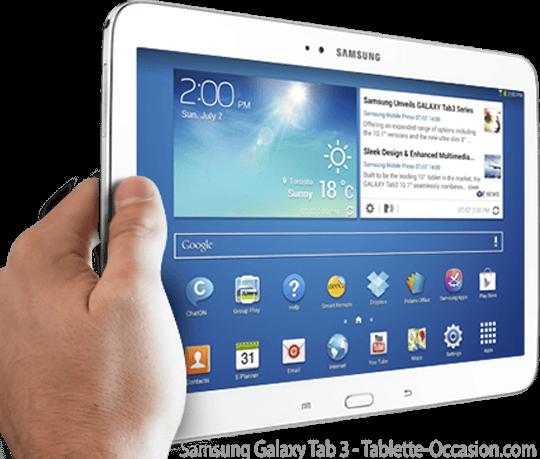 tablettes samsung galaxy tab  occasion