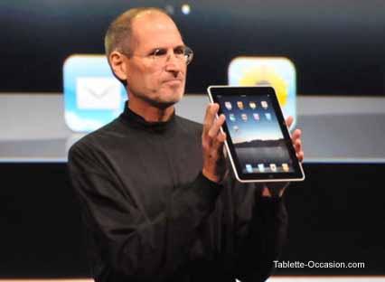 Steve Jobs présente l'iPad