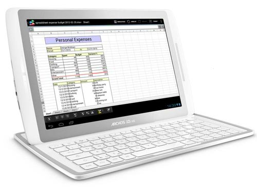 Tablette Archos 101 XS clavier support