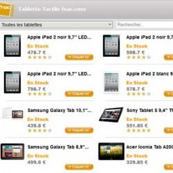 Tablettes neuves sur fnac.com
