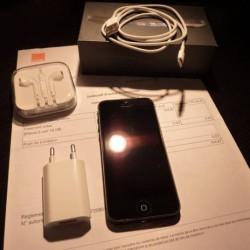 iPhone 5 noir & ardoise dune capacité de 16 Gb