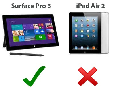 ipad-air-2-vs-surface-pro-3-mode-laptop