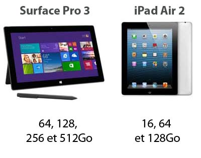 ipad-air-2-vs-surface-pro-3-stockage